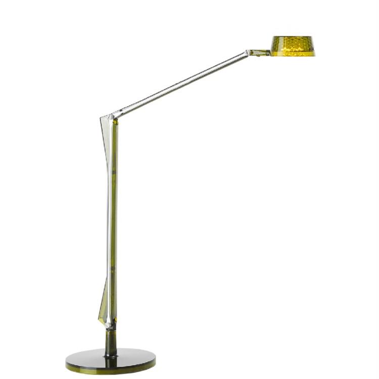 Details zu Aledin Dec , Tischleuchte LED Bunte-Olive-Grün, Kunststoff,  Kartell
