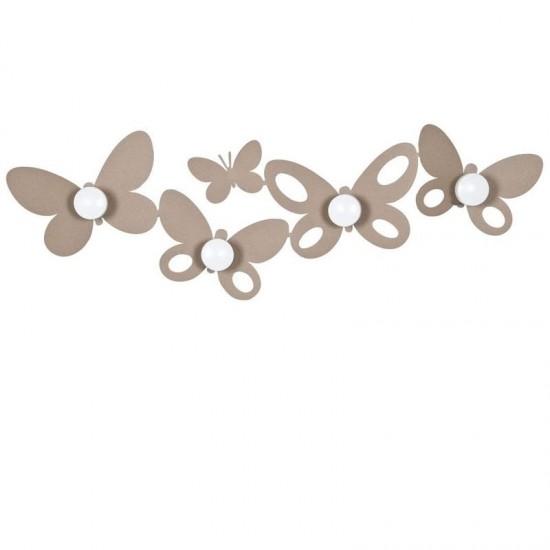 Butterfly, Appendiabiti Beige