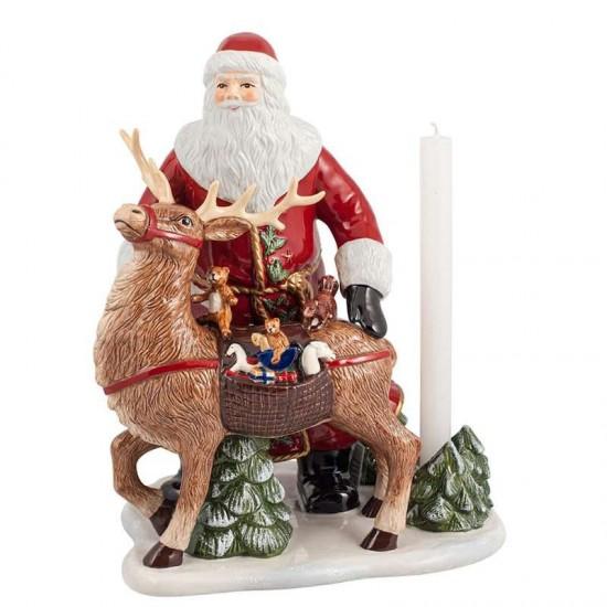 Christmas Toys Memory, Babbo Natale con Cervo 35cm