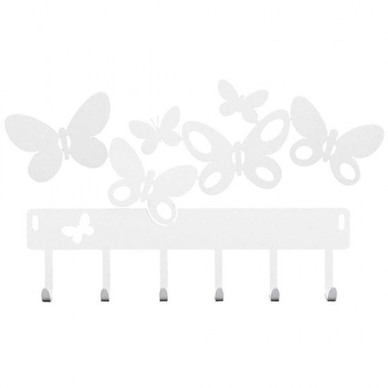 Butterfly, Portachiavi Bianco