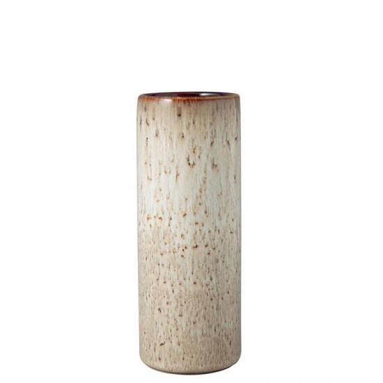 Lave Home, Vaso Cilindrico Beige 20cm
