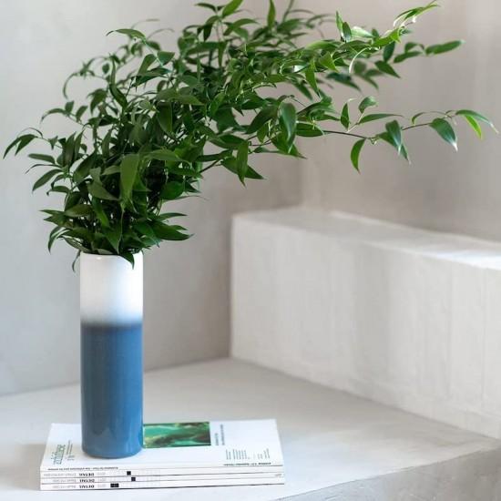 Lave Home, Vaso Cilindrico Blue 25cm