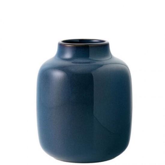 Lave Home, Vaso Nek Blue tinta unita 15,5cm