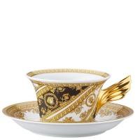 25 Anni Versace, Tazza Tè con piatto I Love Baroque