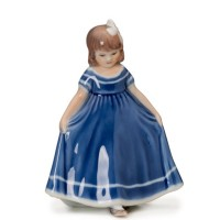 Figurina Ballerina Blue mini