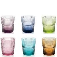 Speedy, set 6 Bicchieri Multicolor