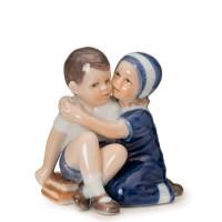 Figurina Elsa con suo Fratello mini