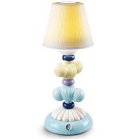 Cactus Firefly, Lampada Gialla e Azzurra 29cm