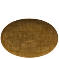 Mesh Colours, Vassoio Ovale 34 cm Walnut