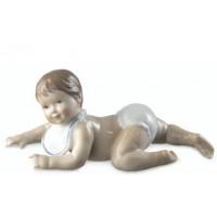 Figurina, Neonato con Bavaglino