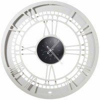 Royal, Orologio Bianco Marmo 90cm