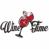 Wine Time, Orologio da Parete Nero e Rosso 67cm