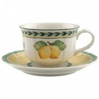 French Garden, Tazza Tè con piatto