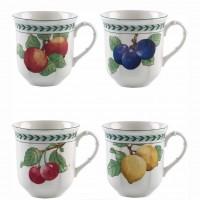 French Garden Modern Fruits, Set 4 Tazze Mug
