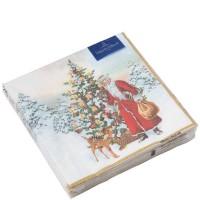 Winter Specials, Tovagliolo L Babbo Natale con Abete 20 pezzi