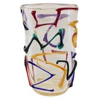 Murano, Vaso Multicolor Oro